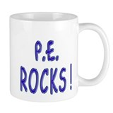 P.E. Rocks ! Small Mug