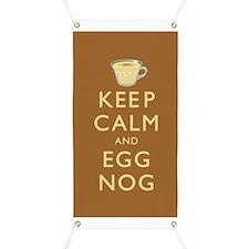 Keep Calm And Egg Nog Banner