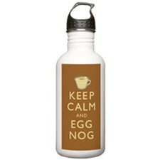 Keep Calm And Egg Nog Water Bottle