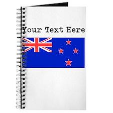 Custom New Zealand Flag Journal