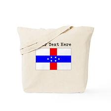 Custom Old Netherlands Antilles Flag Tote Bag