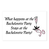Bachelorette party Postcards (Package of 8)