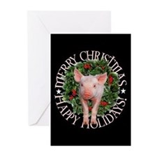 Funny Piggy Greeting Cards (Pk of 20)