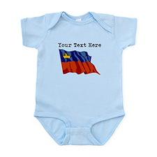 Custom Liechtenstein Flag Body Suit