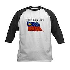 Custom Liechtenstein Flag Baseball Jersey