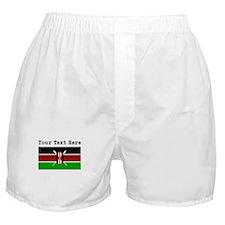 Custom Kenya Flag Boxer Shorts
