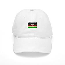 Custom Kenya Flag Baseball Baseball Cap
