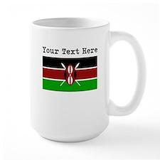 Custom Kenya Flag Mugs