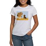Sunflowres / Dachshund Women's T-Shirt