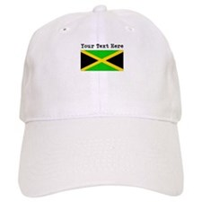 Custom Jamaica Flag Baseball Baseball Cap
