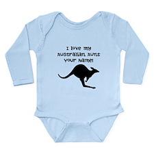 I Love My Australian Aunt Body Suit