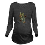 Butterfly 29.png Long Sleeve Maternity T-Shirt