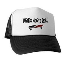 Skateboard Roll Trucker Hat