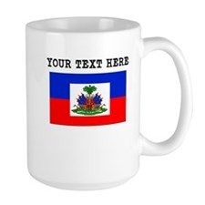 Custom Haiti Flag Mugs