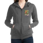 The Goose Girl_PURPLE.png Women's Zip Hoodie
