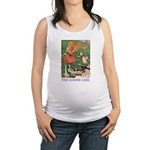 The Goose Girl_PURPLE.png Maternity Tank Top