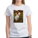 Windflowers / Dachshund Women's T-Shirt