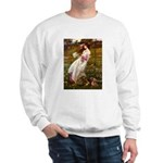 Windflowers / Dachshund Sweatshirt