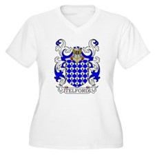 Telford Coat of Arms Plus Size T-Shirt