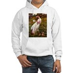 Windflowers / Dachshund Hooded Sweatshirt