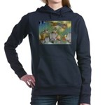 The Fairy Circus004_10x14.png Women's Hooded Sweat