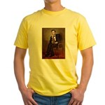 Lincoln's Dachshund Yellow T-Shirt