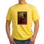 Lincoln's Dachshund Yellow T-Shirt