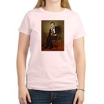 Lincoln's Dachshund Women's Light T-Shirt