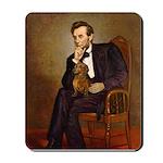 Lincoln's Dachshund Mousepad