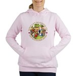 alice who let blondie_gold copy.png Women's Hooded