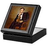 Lincoln's Dachshund Keepsake Box