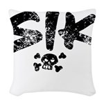 SIK_Blk2.png Woven Throw Pillow