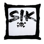 SIK_Blk2.png Throw Pillow