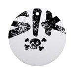 SIK_Blk2.png Ornament (Round)