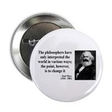 "Karl Marx Quote 5 2.25"" Button (10 pack)"
