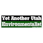 Utah Environmentalist Bumper Sticker