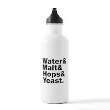 Beer | Water & Malt & Hops & Yeast. Sports Water B