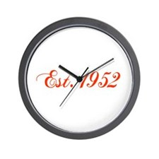 Cute 1952 Wall Clock