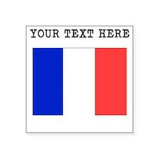 Custom France Flag Sticker