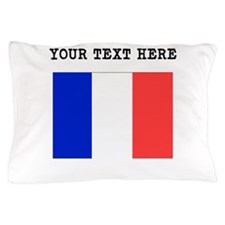 Custom France Flag Pillow Case