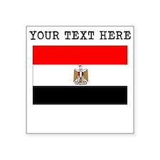 Custom Egypt Flag Sticker