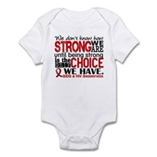 AIDS How Strong We Are Infant Bodysuit