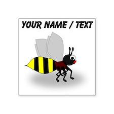 Custom Cartoon Bee Sticker