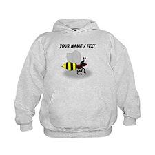 Custom Cartoon Bee Hoodie