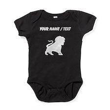 Lion Silhouette (Custom) Baby Bodysuit