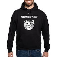 Leopard Face Silhouette (Custom) Hoodie