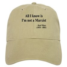 Karl Marx Text 10 Baseball Cap