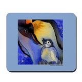 Devoted Dad Penguin Mousepad
