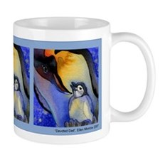 Devoted Dad Penguin Mug