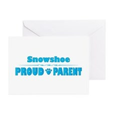 Snowshoe Parent Greeting Cards (Pk of 10)